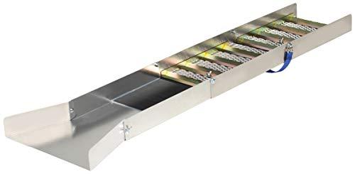 STANSPORT - Backpacking Self-Locking Aluminum Sluice Box Gold Panning Equipment