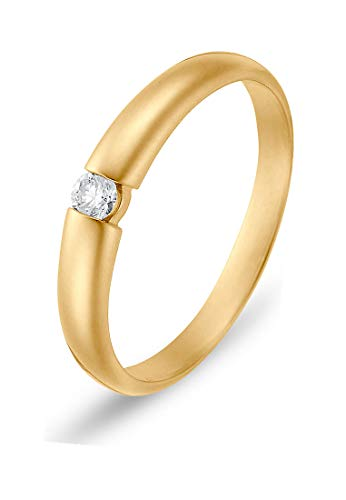 CHRIST Diamonds Damen-Damenring 54 Gold 32000004