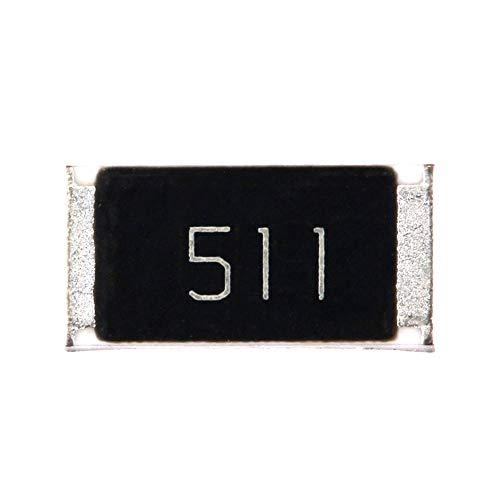 DIYElectronic 50 pcs SMD Chip Resistor 2512 1W 510R 510 ohm 511 5%
