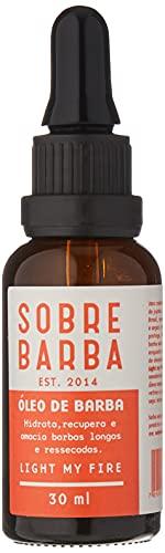 Óleo de Barba Light My Fire, Sobrebarba, Laranja, 30 Ml