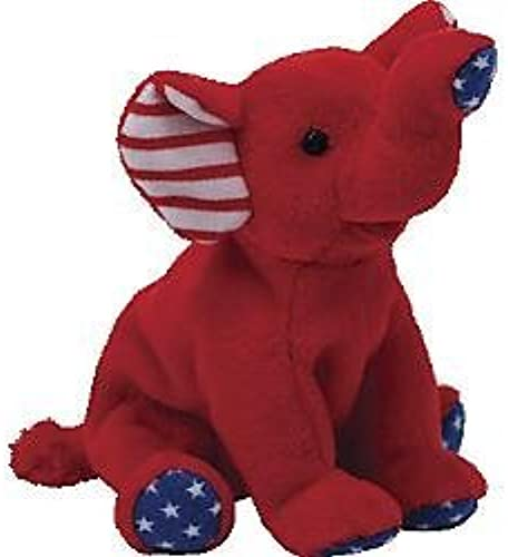 Ty Beanie Babies Righty Patriotic Elephant in rot by Ty Beanie Babies Righty Patriotic Elephant in rot