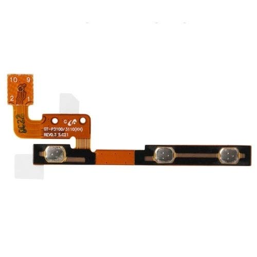 GGAOXINGGAO Cellphone Replacement Parts Power Button Volume Flex Cable for Galaxy Tab 2 (7.0) / P3100