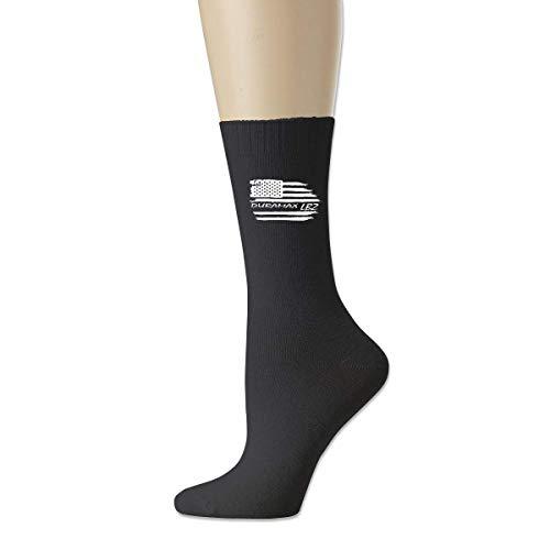 JONINOT Bandera americana Duramax LBZ Mujeres 's Hombres' Calcetines clásicos Medias de algodón Medias L18cm Calcetines deportivos suaves, largos y cálidos ⭐