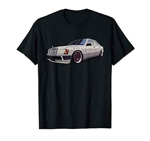 W201 190e Dirty Tshirt T-Shirt