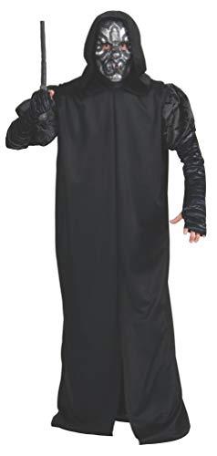Rubie's Offizielles Harry Potter Todesfresser Kostüm für Erwachsene – Standardgröße, schwarz