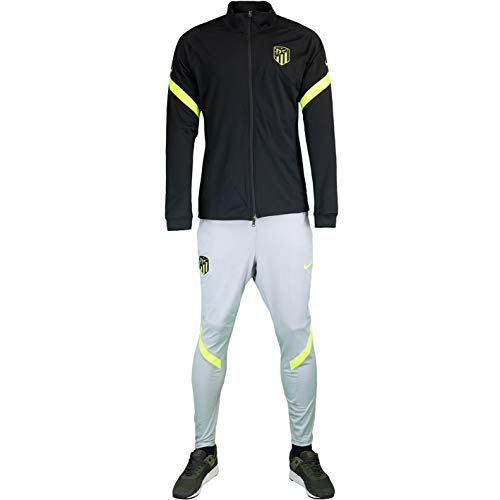Nike Chándal Atlético Madrid Trainer (XXL, negro/gris)