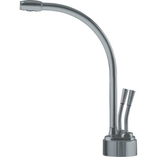 Franke LB9280 Logik Little Butler Two Handle Under Sink Hot and Cold Water Filtration Faucet, Satin...