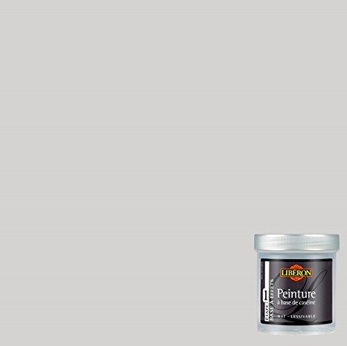 LIBERON Peinture décorative à base de caséine pour meubles et objets, Gris nuée, 0,5L