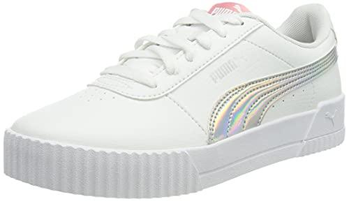 Puma Carina Rainbow Jr, Zapatillas Deportivas, White, 37 EU