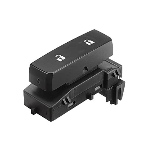 Cat and Mouse ABS Control Electric Master Door Lock Switch Botón Pulsador Conductor Side Negro 15804093 Ajuste para GMC Sierra Chevy Silverado