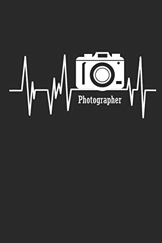 PHOTOGRAPHER: NOTEBOOK Fotografie Notizbuch Photograph Journal 6x9 lined