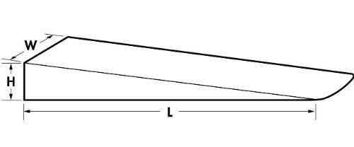 Ajax Tools 883 Wedge 3/4 x 1-1/2 x 8