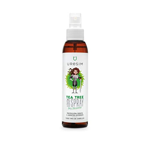 Uresim Tea Tree - Spray locion para el cuerpo, 125 ml