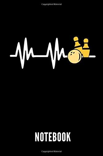 NOTEBOOK: Geschenkidee für Bowling Spieler | Notizbuch mit 110 linierten Seiten | Format 6x9 DIN A5 | Soft cover matt | Klick auf den Autorennamen für mehr Designs zum Thema
