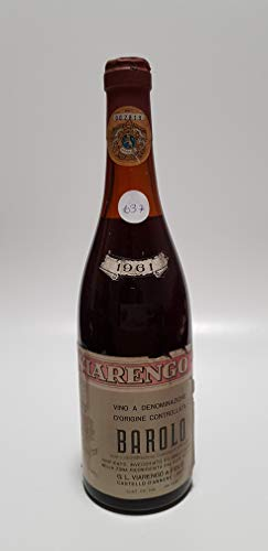 Vintage Bottle - Viarengo Barolo Clear Color 1961 0,70 lt. - COD. 1037