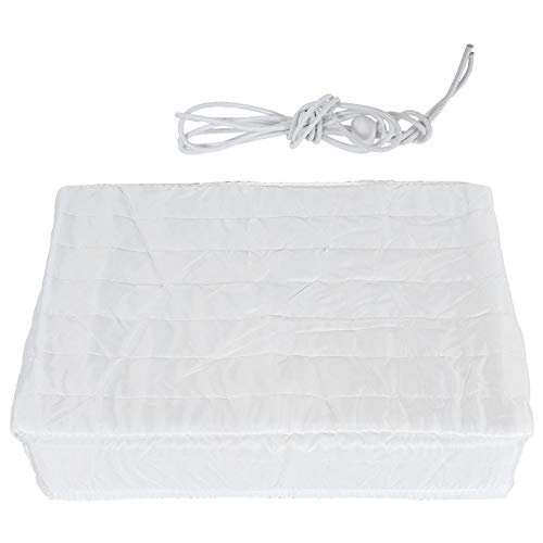 Air Conditioner Cover, Indoor Air Conditioner Cover Double Insulation Fabric Dust‑Proof Elastic AC Unit Protection Cover.(43337cm)