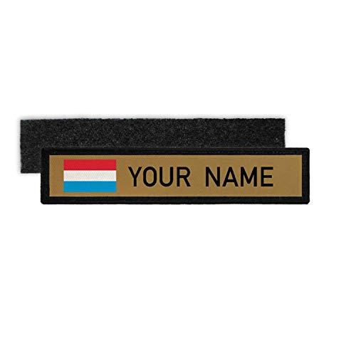 Copytec Namenspatch Luxemburg Name Patch Landesflagge Land Großherzogtum #25260