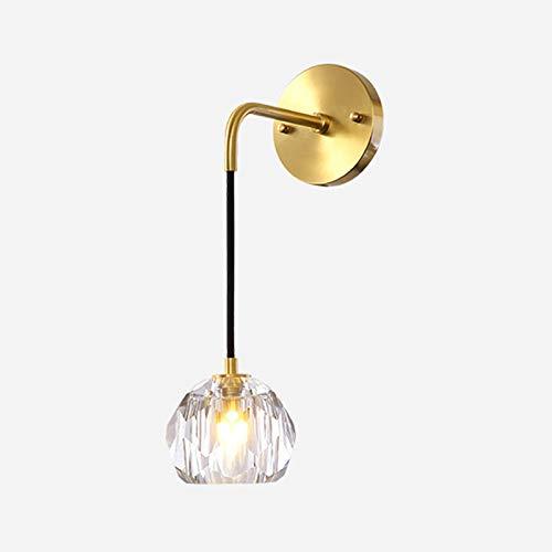 Lámpara de pared Luz postal Luz de lujo Todas las lámparas de pared de cobre Araña de pared Simple LED Wall Sconte Iluminación Lámparas de accesorios, Sling ajustable Lámpara de pared para dor