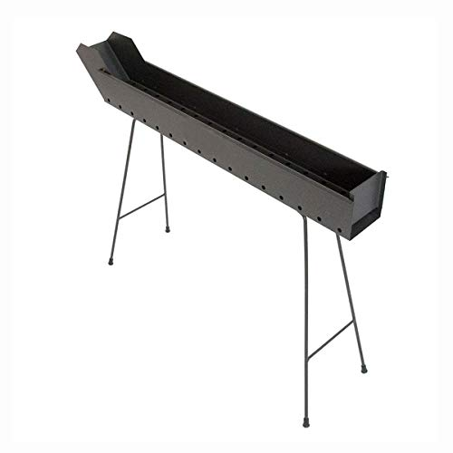 CRUCCOLINI BA14 Barbecue Arrosticini a Carbone, Nero, 92x13x69 cm