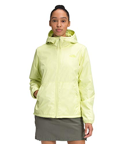The North Face Women's Pitaya Hoodie 3.0, Pale Lime Yellow, XL