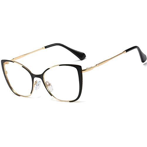 Flache Computerspielbrille mit Anti-Blau-Licht C5 Hellschwarz/Anti-Blau-Licht 135 mm