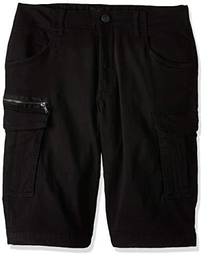 JACK & JONES Herren JJICHOP JJCARGO AKM 429 STS Shorts, Schwarz (Black Black), W(Herstellergröße:S)