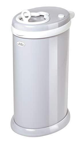UBBI Steel Odor Locking Modern Design Diaper Pail