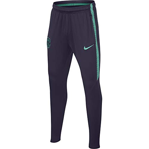 Nike Kinder FC Barcelona Dry Squad Hose, Purple Dynasty/Hyper Turquoise, S