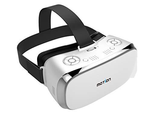VR Glasses Compatible con iPhone y teléfono Android, Gafas de realidad virtual universal, mejores juegos de juegos móviles y películas con una nueva protección contra los ojos anti-azules anti-azules