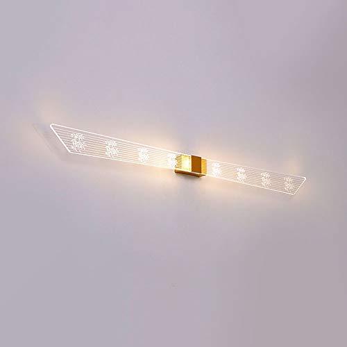 Siet Luz LED Mirror Maquillaje Luces de vanidad Lámpara de gabinete de espejo, Muro de baño Sconce, Pictur de 15W Frame Pictur Iluminación, Lámparas de pared de ahorro de energía Luces de espe