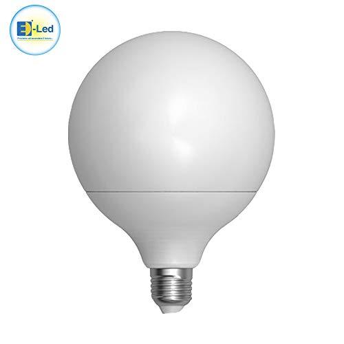 EspoWeb Bombilla E27 30 W LED globo G150 luz cálida o fría ultra potente