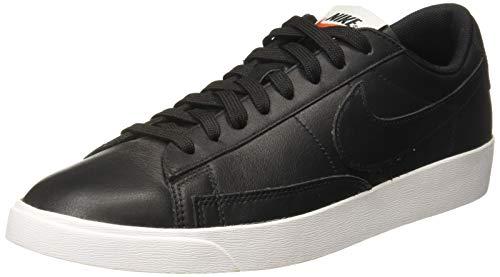 Nike W Blazer Low LE, Zapatillas de Deporte Mujer, Negro (Black/Black/White/Gum Light Brown 001), 37.5 EU
