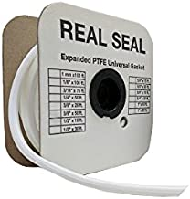 """Joint Sealant PTFE, 3/8"""" wide x 50 feet long, """"DIY"""" Gasket Material,  QTY: 1 spool"""