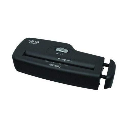 Fragmentadora de Papel Aurora Corte em Tiras Sem Cesto, Cartão de Crédito AS600 - Preta