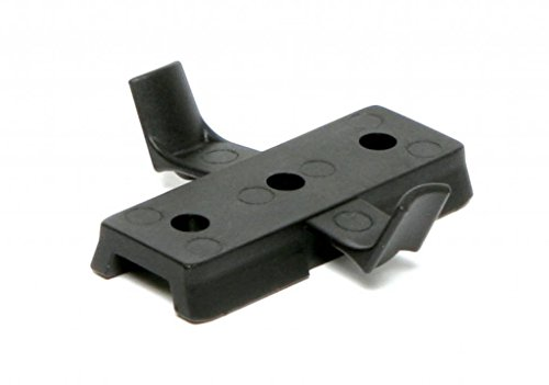 DLP Tactical Universal Accessory Mount Adaptor for ARC Rail Equipped ACH/Fast/MICH Combat Helmet (Black)