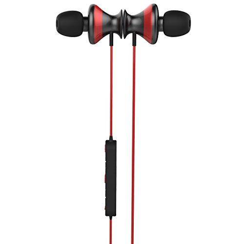 Camino de Trendwoo X9Bluetooth Auriculares de Aluminio para Auricular Auriculares inalámbrico (Bluetooth 4.0estéreo micrófono Integrado a la sudoración)