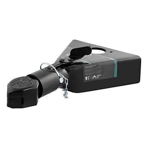 CURT 25227 Black A-Frame Trailer Coupler, 2-5/16-Inch Hitch Ball, 12,500 lbs
