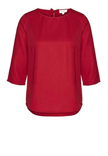 ARMEDANGELS HEDDAA Bow - Damesblouse van Tencel™ Lyocell-blouse met lange mouwen, ronde hals, regular fit