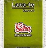 La Selva - Infusión Laxa-Té - Activa y regula la función intestinal. Contiene: Sarandí Blanco, Yerba Buena, Hinojo, Sen Hojas y Frángula.- 20 Saquitos