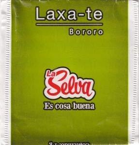 La Selva - Infusión Laxa-Té - Contiene: Sarandí Blanco, Yerba Buena, Hinojo, Sen Hojas y Frángula.- 20 Saquitos