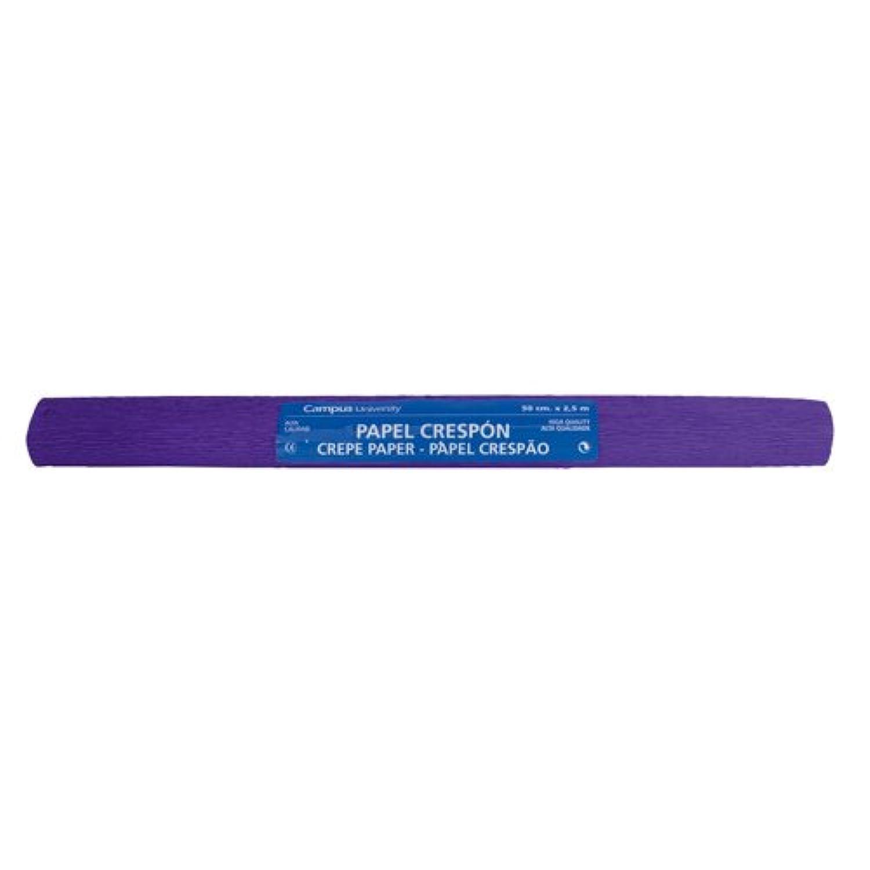 Makro Paper fcp-pu-600325?–?Crepe Paper, Pack of 10, 50?x 250?cm, Violet