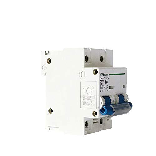 OIASD Interruptor fotovoltaico DC Interruptor 250V Interruptor de protección de energía Interruptor de Aire pequeño DC 500V1000V, 80A
