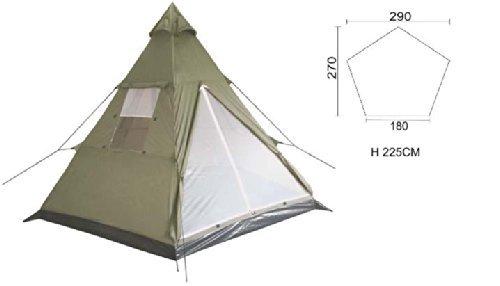 Tucuman Aventura–tenda da campeggio India