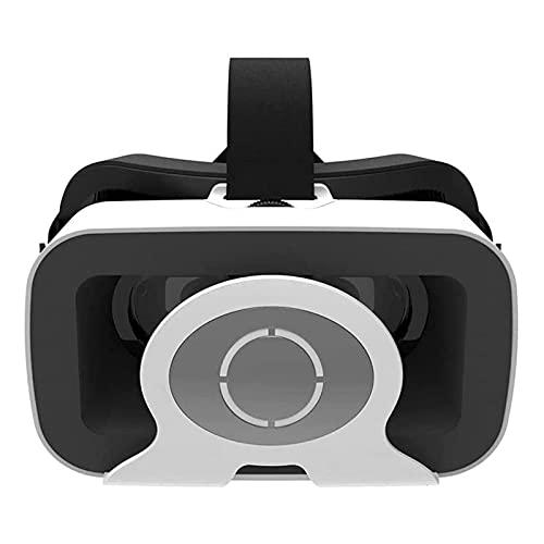 HKJZ SFLRW Auriculares VR, Auriculares de Realidad Virtual 3D VR Gafas Gafas para películas en 3D compatibles con 4.7-6.0 Pulgadas
