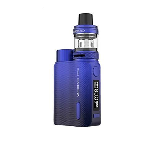 Original Vaporesso Swag II Kit Elektronische Zigarette Mit TC Box Mod Vape 3,5 ml NRG PE Tank GT CCELL Spule (Blue)