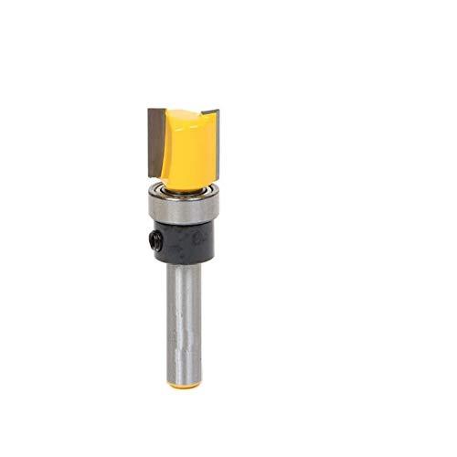XBF-TOOL, 1pc Bisagra escopleado Router bit - 1/2' W X 1/2' H - 1/4' vástago de la carpintería Cortador de Tenon de Corte for Herramientas de la carpintería (tamaño : 1/4' 1pc)