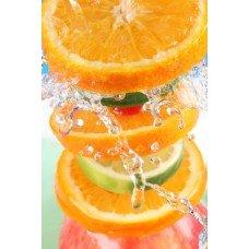 2682 Huile parfumée pour bougie et savon Mandarine et mangue rose 28,3 g