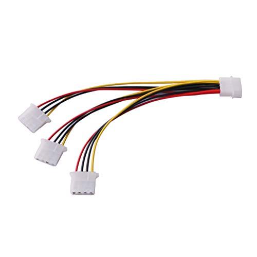 Mobestech - Cable alargador de 4 pines para ventilador de placa base