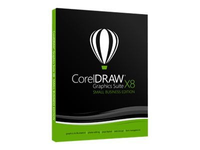 Corel Draw Graphics Suite X8 SBE/DVD Box
