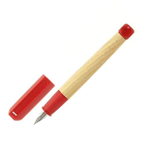 LAMY ラミー 万年筆 ペン先A abc レッド L10-A 両用式 コンバーター別売 正規輸入品